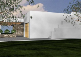 foto laterale di una villa ubicata in Santa Maria di Leuca