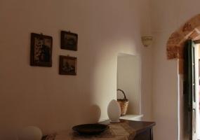 foto di uno splendido angolo di un tipico palazzo salentino ubicato in Ruggiano di Salve