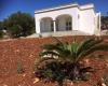 nella foto vediamo l'esterno di una villa in Puglia nella bellissima Pescoluse perla nel salento