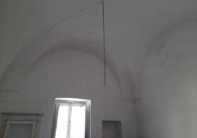 nella foto vediamo una volta di una casa antica da ristrutturare in morciano di leuca